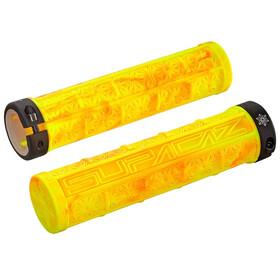 Supacaz Grizips handvatten geel/zwart
